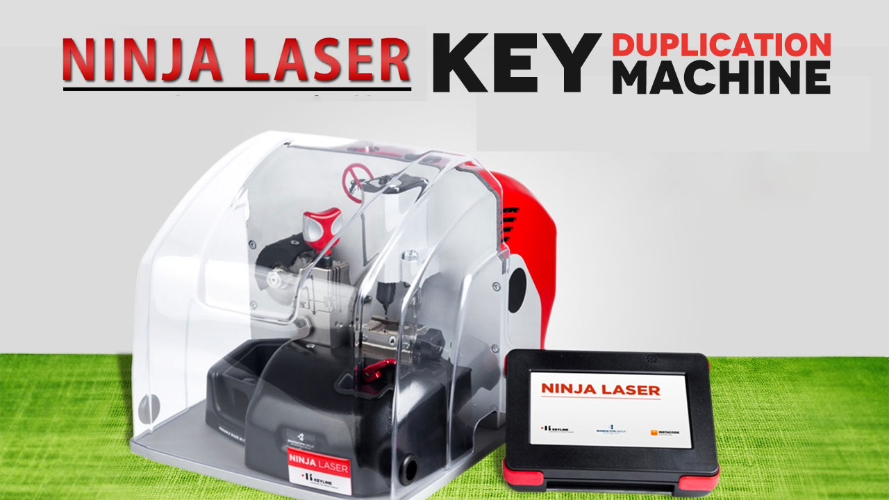 Key Duplication Ninja Laser Cutter Machine