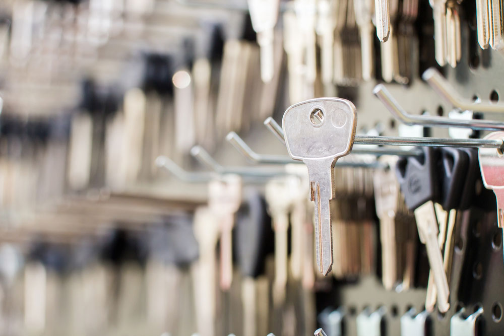 Most commonly used metals used on keys made by duplicate keys maker near you