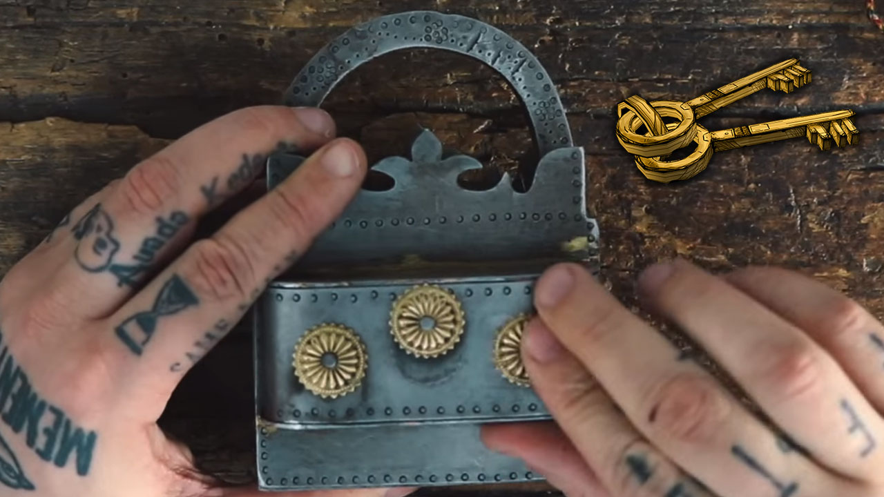 Hard to open lock