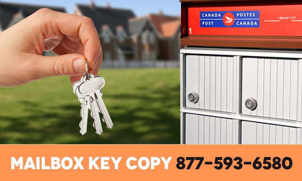 Mailbox key copy number