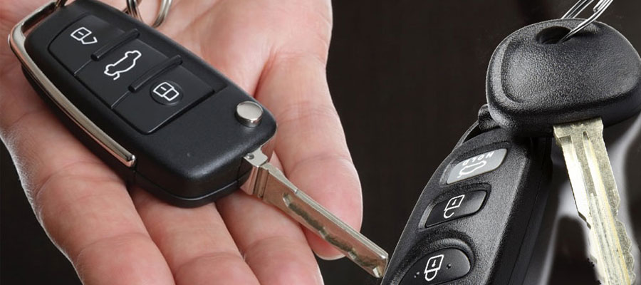 Transponder car keys programming a copy