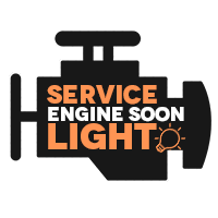 Service Engine Soon Light Icon