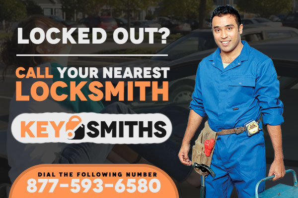 Locksmith near me service phone number banner