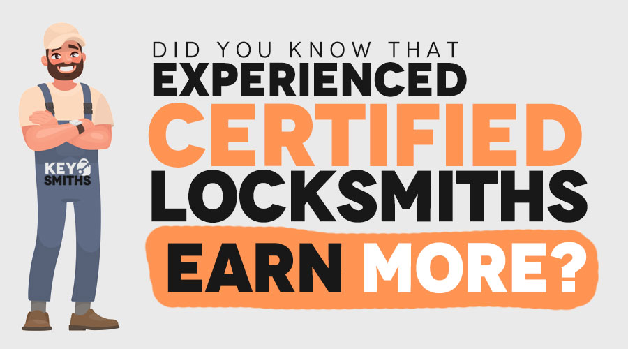 Salary of a Certified Locksmith