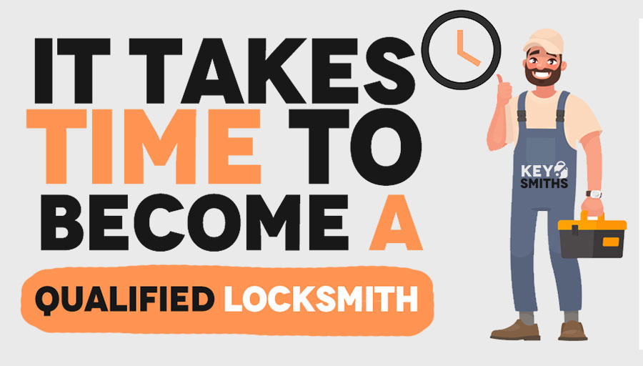 How long will it take for someone to become a qualifited locksmith