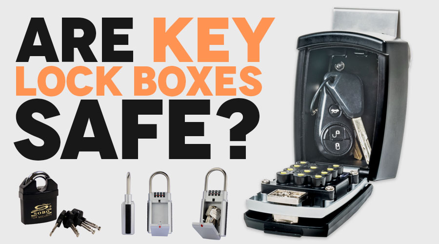 How safe is a key lock box?