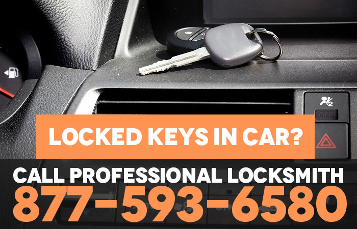 Locked Keys Inside a car