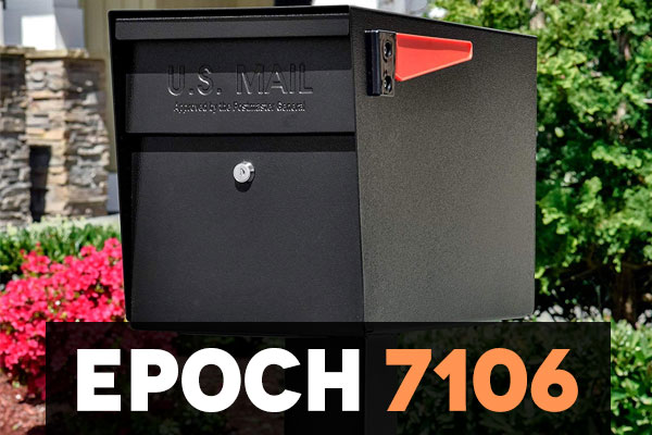 Epoch 7106 Locking Mailbox by Mail Boss