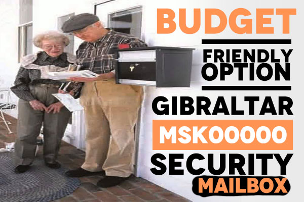 Gibraltar MSK00000 Locking Mailbox