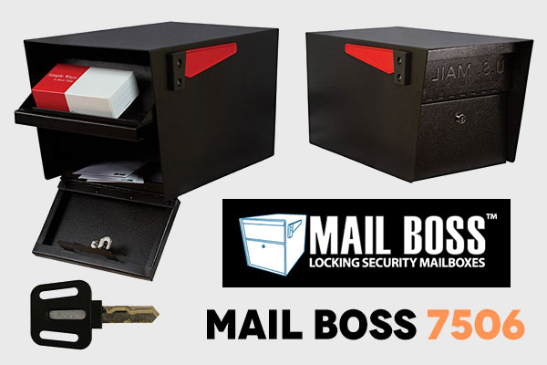 Locking Mailbox 7506 by Mail Boss