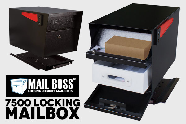 Best Locking Mailbox Mail Boss 7500
