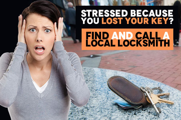 Worried because you've lost your home or car key?