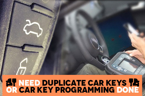 Professional car key programming service